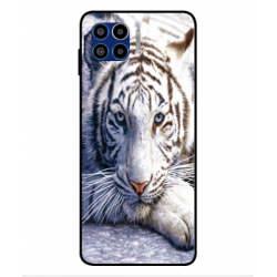 Motorola One 5G White Tiger Cover
