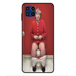 Motorola One 5G Angela Merkel On The Toilet Cover