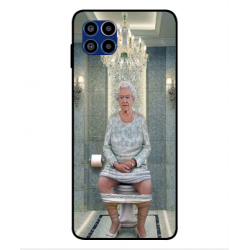 Motorola One 5G Her Majesty Queen Elizabeth On The Toilet Cover
