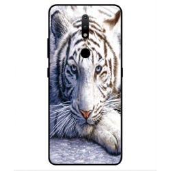 Nokia 2.4 White Tiger Cover