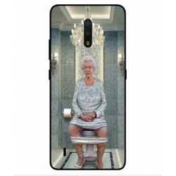Nokia C2 Tennen Her Majesty Queen Elizabeth On The Toilet Cover