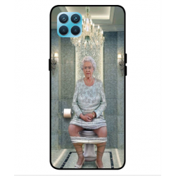Oppo Reno 4 Lite Her Majesty Queen Elizabeth On The Toilet Cover