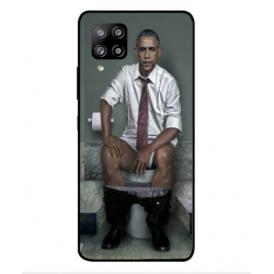 Samsung Galaxy A42 5G Obama On The Toilet Cover