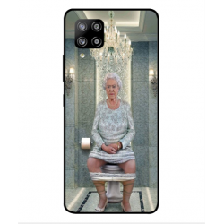 Samsung Galaxy A42 5G Her Majesty Queen Elizabeth On The Toilet Cover