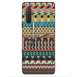 Sony Xperia 5 II Mexican Embroidery With Clock Cover