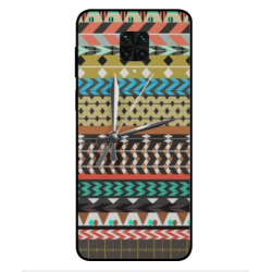 Xiaomi Poco M2 Pro Mexican Embroidery With Clock Cover