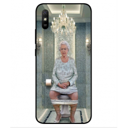 Xiaomi Redmi 9A Her Majesty Queen Elizabeth On The Toilet Cover