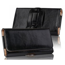 LG X Mach Horizontal Leather Case