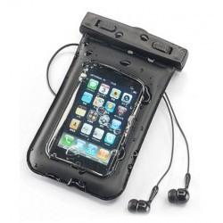 Orange Gova Waterproof Case With Waterproof Earphones