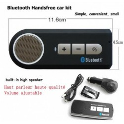 Orange Rono Bluetooth Handsfree Car Kit