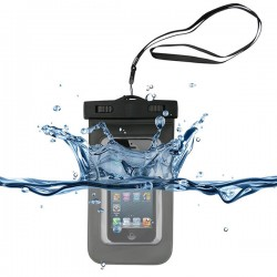 Waterproof Case Orange SoshPhone 3