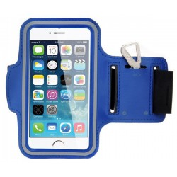 Orange SoshPhone 3 blue armband