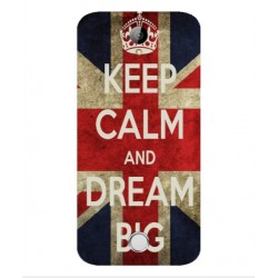 Keep Calm And Dream Big Hülle Für Acer Liquid M320