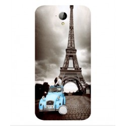 Acer Liquid M320 Vintage Eiffel Tower Case