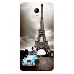 Acer Liquid Zest Plus Vintage Eiffel Tower Case