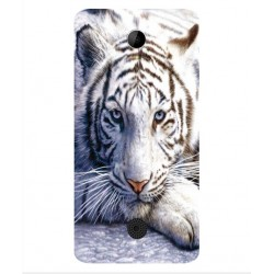 Acer Liquid Zest Plus White Tiger Cover