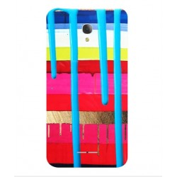 Carcasa Brushstrokes Para Alcatel Fierce 4