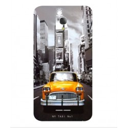 Carcasa New York Taxi Para Alcatel Fierce 4