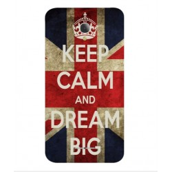 Carcasa Keep Calm And Dream Big Para Alcatel Fierce 4