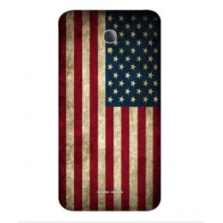 Funda Vintage America Para Alcatel Fierce 4