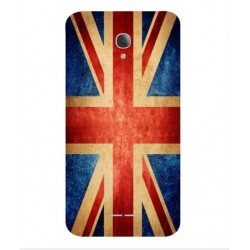 Funda Vintage UK Para Alcatel Fierce 4