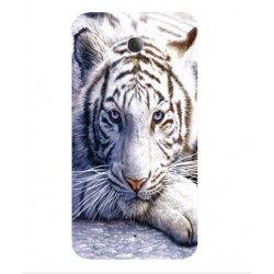 Coque Protection Tigre Blanc Pour Alcatel Fierce 4