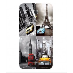 Cover Best Vintage Per Alcatel Fierce 4