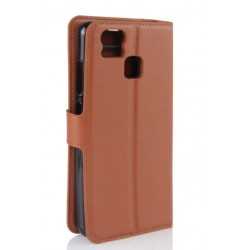 Asus Zenfone 3 Zoom ZE553KL Brown Wallet Case