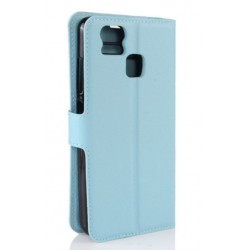 Asus Zenfone 3 Zoom ZE553KL Blue Wallet Case