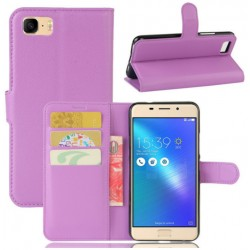 Asus ZenFone 3s Max (ZC521TL) Purple Wallet Case