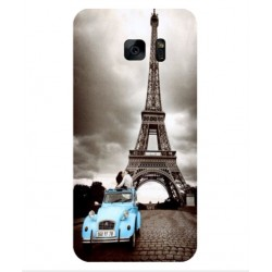 Samsung Galaxy S7 Edge Vintage Eiffel Tower Case
