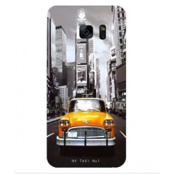 Samsung Galaxy S7 Edge New York Taxi Cover