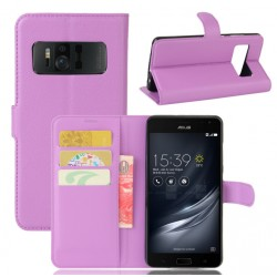 Asus Zenfone AR ZS571KL Purple Wallet Case