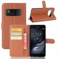 Asus Zenfone AR ZS571KL Brown Wallet Case