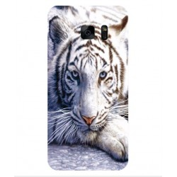 Samsung Galaxy S7 Edge White Tiger Cover