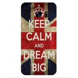 Coque Keep Calm And Dream Big Pour Samsung Galaxy S7