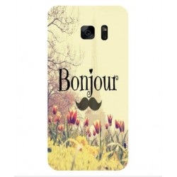 Samsung Galaxy S7 Hello Paris Cover