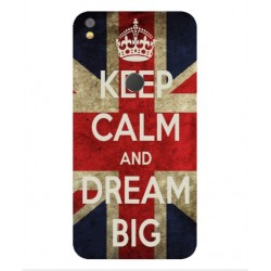 Keep Calm And Dream Big Hülle Für Alcatel Shine Lite
