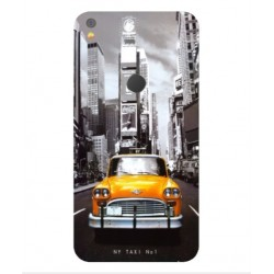 Coque New York Taxi Pour Alcatel Shine Lite