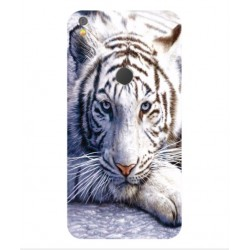 Coque Protection Tigre Blanc Pour Alcatel Shine Lite
