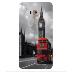 Carcasa London Style Para Asus ZenFone 3 Deluxe 5.5 ZS550KL