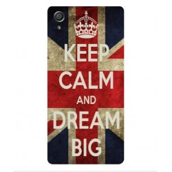 Sony Xperia E5 Keep Calm And Dream Big Cover