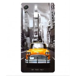 Sony Xperia E5 New York Taxi Cover