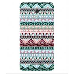 Coque Broderie Mexicaine Pour Alcatel Pop 4