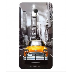 Coque New York Taxi Pour Alcatel Pop 4