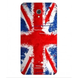 Coque UK Brush Pour Alcatel Pop 4