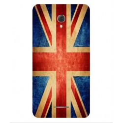 Coque Vintage UK Pour Alcatel Pop 4