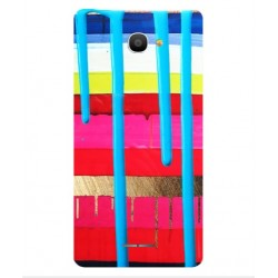 Alcatel Pop 4S Brushstrokes Cover