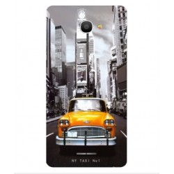 Coque New York Taxi Pour Alcatel Pop 4S