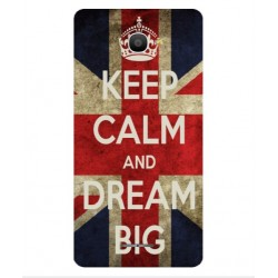 Keep Calm And Dream Big Hülle Für Alcatel Pop 4S